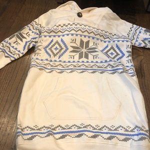 Beautiful sweater hooded dress 8-10 ❄️ ✨